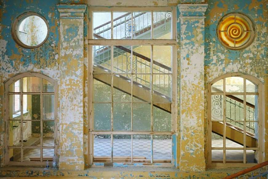 زیباترین مکانهای رها شده در جهان - 3. بیمارستان Beelitz، آلمان