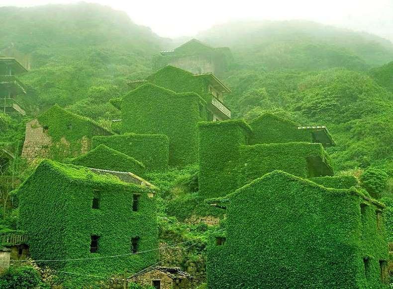 زیباترین مکانهای رها شده در جهان - 5. جزیره Gougi، چین