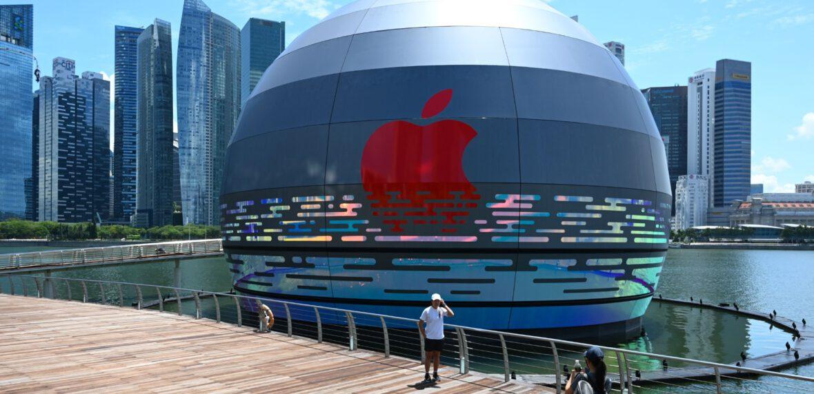 افتتاح اولین فروشگاه خرده فروشی شناور اپل در جهان