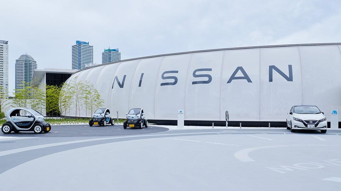 ارز رایج پارکینگها در آینده - شرکت خودروسازی نیسان