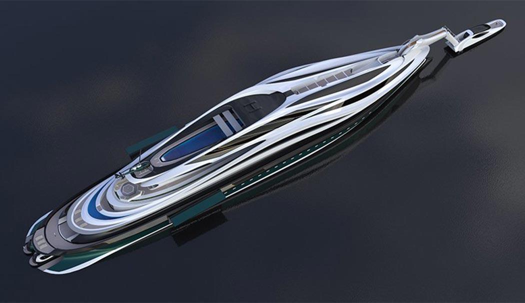 دید پرنده قایق تفریحی لاتزارینی