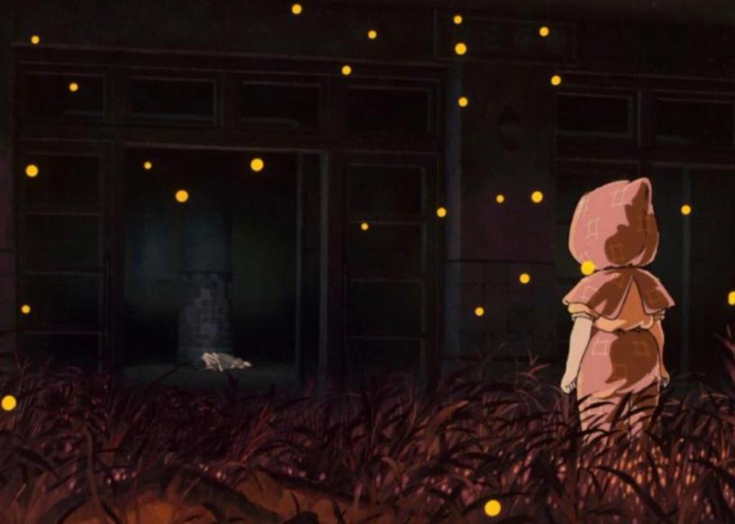 10 فیلم برتر جنگی جهان - 5. گور کرم شب تاب (1988) Grave of the Fireflies