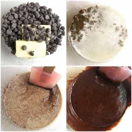دستور تهیه کیک شکلاتی بدون آرد - مرحله 2