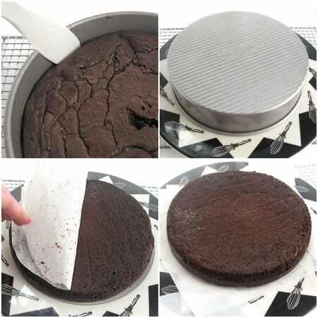 دستور تهیه کیک شکلاتی بدون آرد - مرحله 7