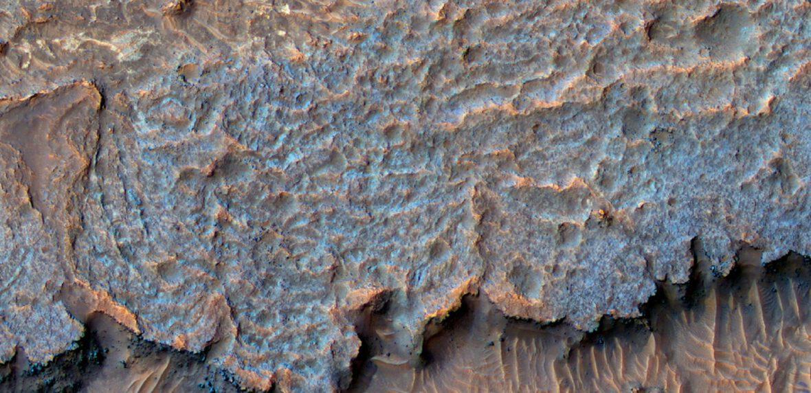 رشته کوههای عجیب و غریب مریخ