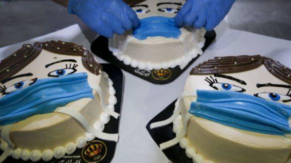 محافظ کیک ضد COVID-19