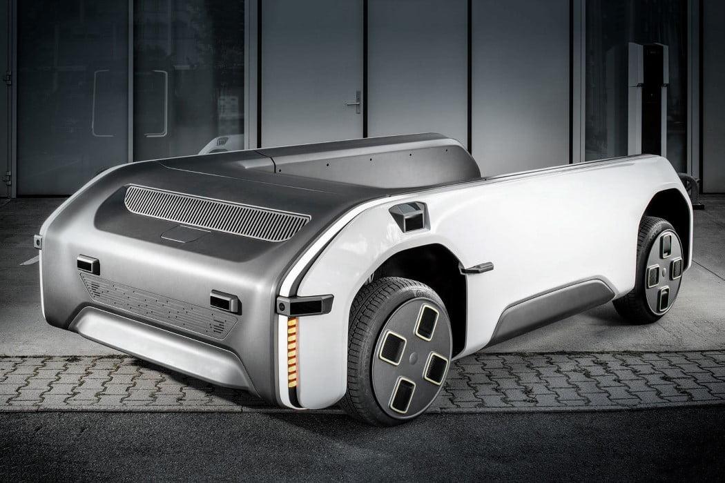 اسب کشنده آینده گرایانه: طراحی پلتفرم الکتریکی مدولار که میتواند هر خودرویی را بکشد