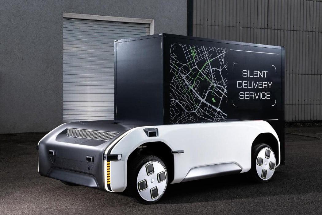 اسب کشنده آینده گرایانه با قابلیت کشیدن انواع وسایل نقلیه