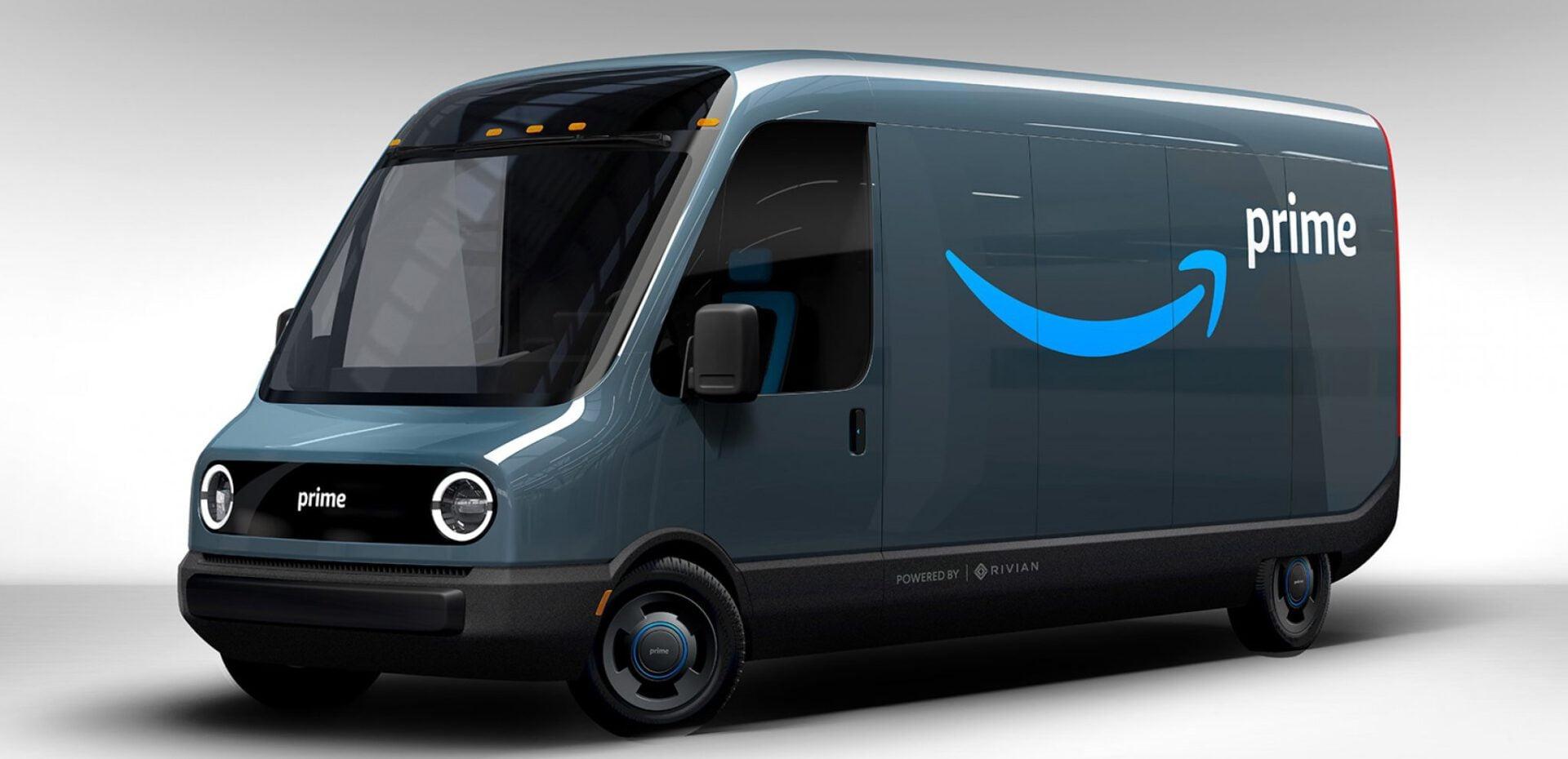 خودروی الکتریکی شرکت آمازون