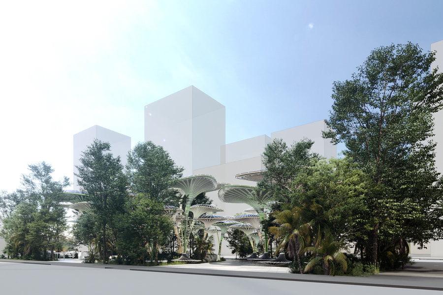 مسابقه معماری ابوظبی خنکتر