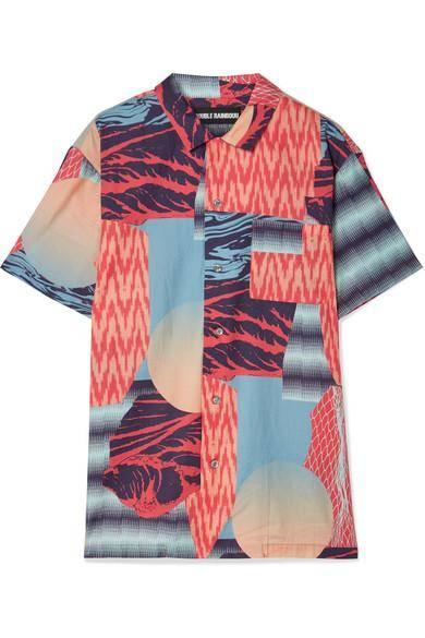زشتترین ترندهای پوشاک پاییزی - بالا تنه طرح نامفهوم به همراه ترکیب رنگی نامناسب