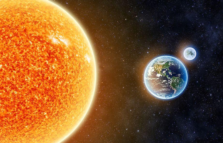 فاصله زمین تا خورشید