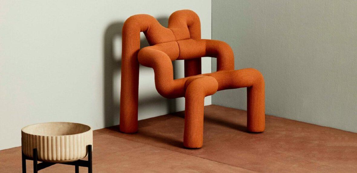 صندلی غیرعادی پست مدرن